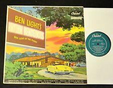 50's CAR ILLUSTRATION COVER Ben Light Capitol 361 Rhythm Rendezvous