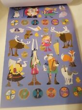 Viking Vikings Sticker Book Kids 3+ 186 Stickers Sweden Norse Danish
