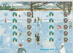 GB 2006 SMILER SHEET LS34 CHRISTMAS 2006 MINT