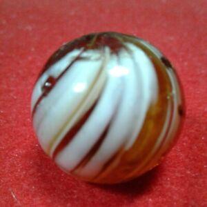 "RARE Handmade German   7/8""  Indian Gooseberry Marble."