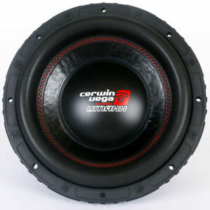"Cerwin Vega VMAXX10D4 10"" 1500W Dual 4-Ohm High-Performance Car Audio Subwoofer"