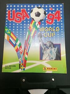 Panini FIFA World Cup USA 1994 Sticker Book Full Sports Stickers Old Vintage