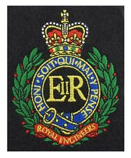 Royal Engineers Embroidered Blazer Badge Re Badge R1893