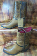 Sonora Bailey Light Brown Cowgirl Riding Boots 10 B Style SN1033  #1419