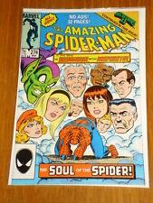 SPIDERMAN AMAZING #274 NM- (9.2) MARCH 1986 MARVEL GREEN GOBLIN SECRET WARS*
