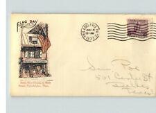 FLAG DAY, June 14, 1933 Philadelphia, PA cancel