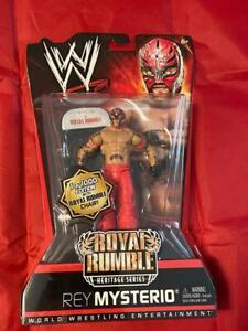REY MYSTERIO ROYAL RUMBLE HERITAGE BASIC SERIES WWE Figure Wrestling Toy New