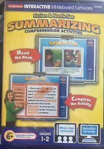 Lakeshore Interactive Whiteboard Software Fiction & Nonfiction Summarizing Compr