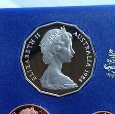 1984  50 cent Proof coin. Ex set~ Low Mintage~ Brilliant
