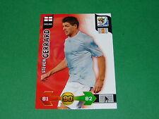 GERRARD ENGLAND  PANINI FOOTBALL FIFA WORLD CUP 2010 CARD ADRENALYN XL
