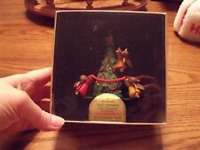 Vtg 1978 Hallmark Ornament Tree Trimmer ANGEL Christmas Tree Twirl About Motion