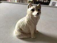 "John Beswick ""Arctic Fox"" Lovely Figure Of A White Fox"