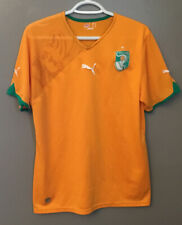 Cote D'Ivoire Ivory Coast 2010 World Cup Home Football Soccer Shirt Jersey Puma