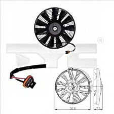 TYC Radiator Condenser Cooling Fan Fits OPEL Astra Corsa Vectra 1.4-2.5L 1988-00