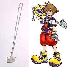 Cosplay Kingdom Hearts Sora Couronne Colliers Pendantif Chaîne Chain Unisexe