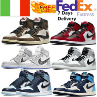 Air Jordan1 Scarpe Da Ginnastica Da Uomo Retro High OG Mid Sneakers Fashion