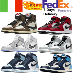 Scarpe Da Ginnastica Air Jordan1 Retro High OG PS Satin Mid Chicago Uomo - Donna