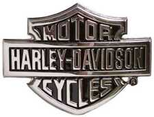Harley-Davidson Men's Chrome Bar & Shield Logo Belt Buckle HDMBU10615