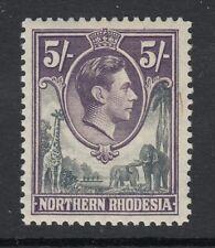 Northern Rhodesia Sc 43 (SG 43), MHR