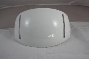 Gentex Visor Housing Assemply WH Plain white SPH-5 91C8056-1 Pilotenhelm