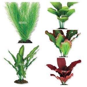 Aqua One Silk Plant Aquarium Decoration - @ BARGAIN PRICE!!!