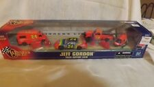Winner's Circle Nascar Jeff Gordon Track Support Crew Tow Truck-Parts Van & More