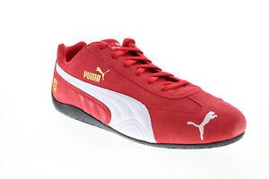Puma Scuderia Ferrari Speedcat Mens Red Motorsport Inspired Sneakers Shoes