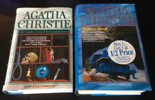 Lot 2 Agatha Christie Five Complete Novels Murderers Abroad & Murders Detection