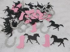 Cowgirl Table Confetti  100 pieces Handmade