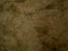Brown Tie Dyed Cotton Fabric