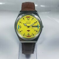 Vintage Citizen Automatic Movement Day Date Dial Mens Wrist Watch CA110