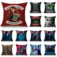 Home Decor Riverdale Pillowcase South Side Serpents Bedroom Sofa Cushion Cover