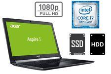 NOTEBOOK ACER A517 - CORE i7 - 512GB SSD + 1TB - 20GB RAM - 2GB NVIDIA MX150 2GB