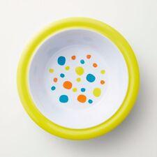Barel Junior Yellow Polka Dot Rimmed Melamine Bowl - Kids, Breakfast, And Dinner