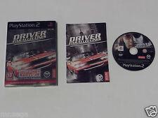 """DRIVER PARALLEL LINES Edizione Per Collezionisti Per PLAYSTATION 2 """"RARO & difficili da trovare"""""""