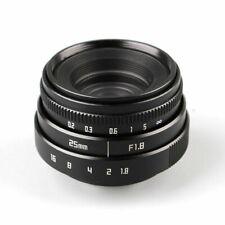 Black C mount Mini 25mm F1.8 CCTV Lens For Micro 4/3 Olympus Panasonic Camera