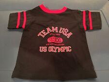 Team USA Olympic Games XXL ringer t-shirts todler size 2T vintage New NWOT