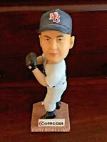 Curt SCHILLING RARE LARGE Bobblehead WITH BOX NB Rock Cats Twins Boston Red Sox