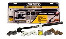 Model Train Woodland all scale Track Cleaning System TT4550  - Watch the videos