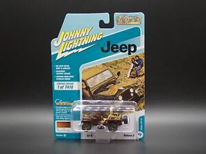 2021 JOHNNY WHITE LIGHTNING JEEP CJ5 GOLDEN EAGLE CLASSIC GOLD RELEASE 2A CHASE