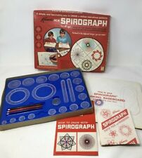 Vintage 1967 Kenners Spirograph Game #401 Pens Rings Missing a Couple Pieces
