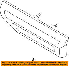 FORD OEM 15-16 F-150-Tailgate Tail Gate Handle FL3Z9943400EAPTM