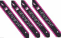 Hen Party Hen Night Banner Bunting Pink Party Decoration Partyware Bride to Be