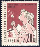 BERLIN 1960, MiNr. 195 II, tadellos postfrisch, gepr. Schlegel, Mi. -,-