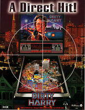 DIRTY HARRY Original PROMO Pinball Flyer WILLIAMS 1994 MINT CLINT EASTWOOD