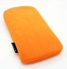 Funda para iPhone 4S 4G 3Gs Telefono Movil 3G de Terciopelo Naranja Nuevo 2154