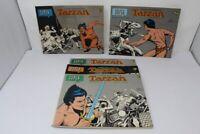 SUPER TARZAN IL RE DELLA GIUNGLA CENISIO MILANO 1/5 COMPLETA 1976-1978 [Y15-003]