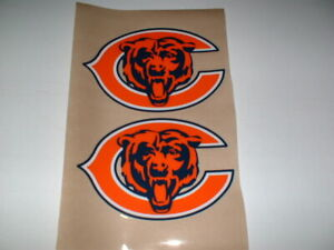 CHICAGO BEARS FULL SIZE FOOTBALL DECALS