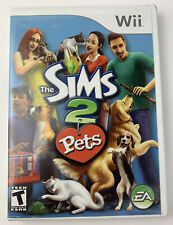 The Sims 2: Pets (Nintendo Wii, 2007) Complete Tested Authentic