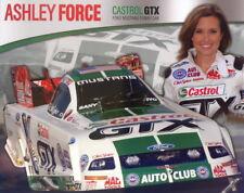2008 Ashley Force Castrol Ford Mustang Funny Car NHRA postcard